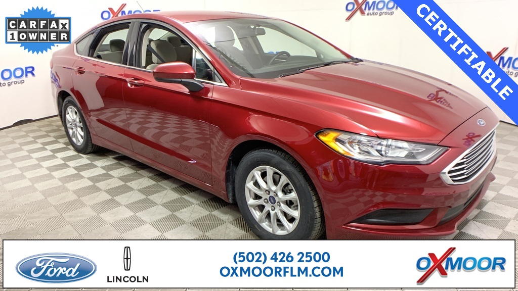 Certified Pre-Owned 2017 Ford Fusion S