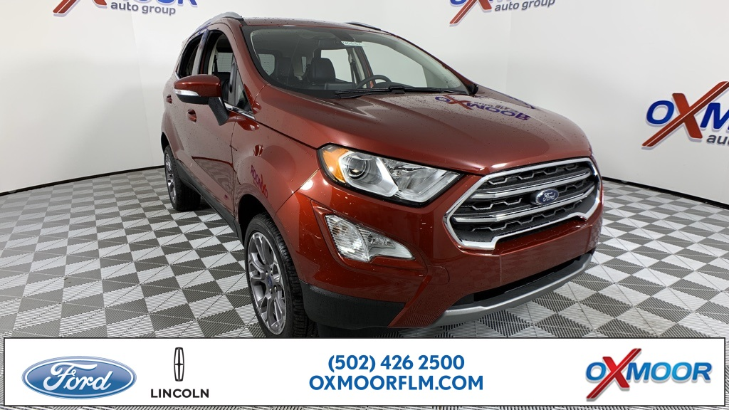 New 2020 Ford EcoSport Titanium