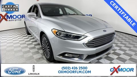 Certified Pre-Owned 2017 Ford Fusion Titanium
