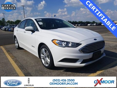 Certified Pre-Owned 2018 Ford Fusion Hybrid SE