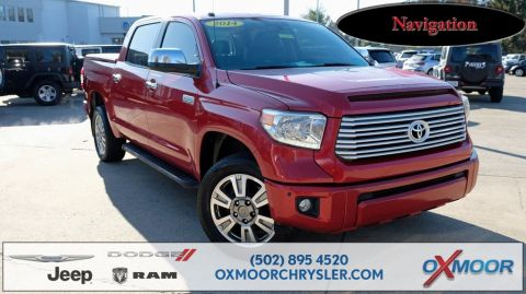 Pre-Owned 2014 Toyota Tundra Platinum